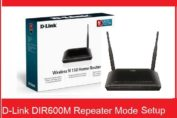 D-Link DIR-600M WiFI Router Repeater Mode