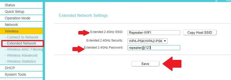 tp-link wr841nd repeater mode
