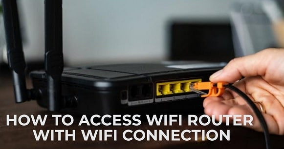 How to access WiFi Router settings