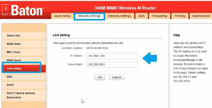 iBall Baton iB-WRX300N 300M Wireless range extender mode