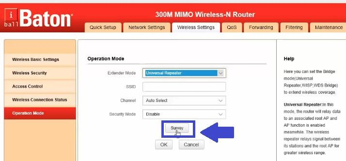 iBall MIMO Wireless-N Router repeater mode setup