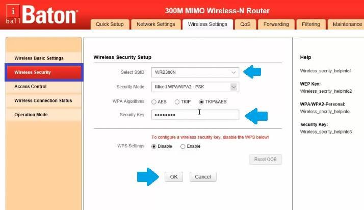 iBall Baton iB-WRD12EN 1200M repeater mode setup