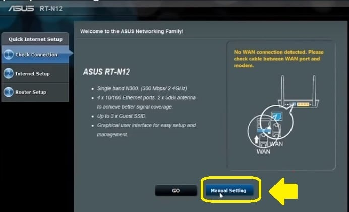 asus rt-ac1200 repeater mode