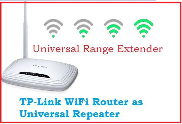 TP-link WR743ND Range Extender Mode setup