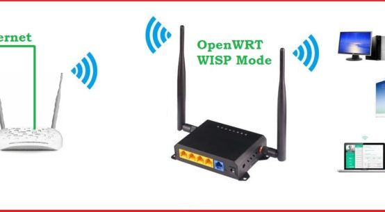 openwrt wisp mode