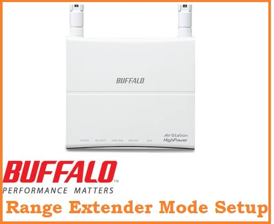 airstation buffalo router setup