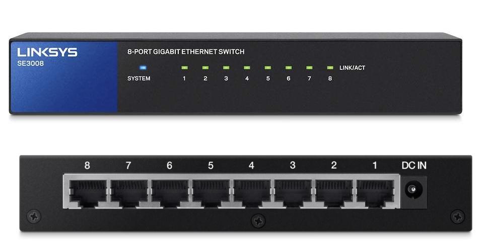 8 port managed gigabit switch