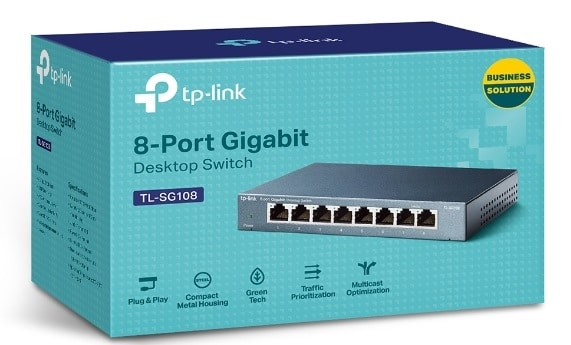 8 port gigabit switch price