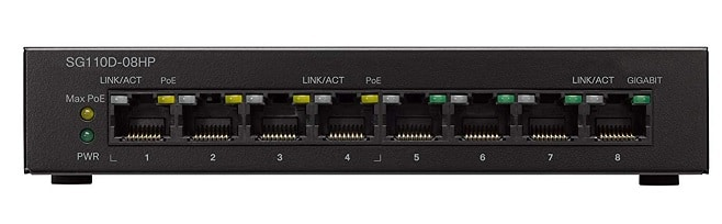 8 port gigabit switch for small office