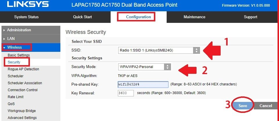 How to Configure and Reset Linksys LAPAC1200 Router