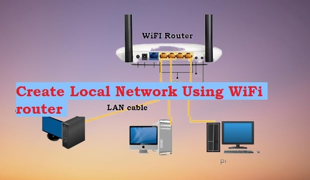 How to Create Local Network without switch?