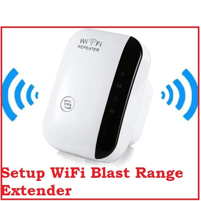 Login and Setup WiFIBlast Range Extender