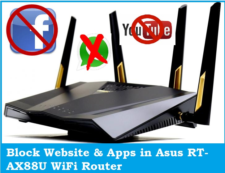 block website in asus rt-ax88u ax6000