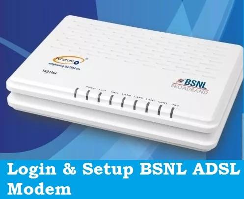 bsnl modem configuration