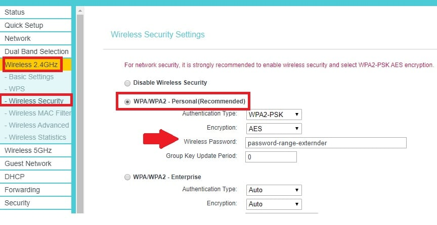 tp link ac750 wifi range extender setup