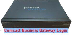 10.0 Comcast Business login