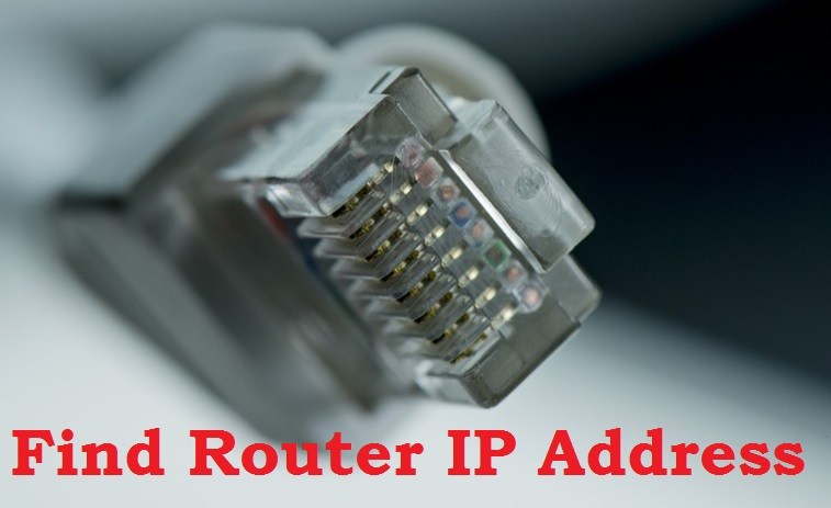 find my router ip