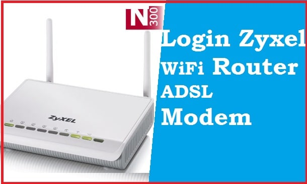 how to login zyxel wifi router