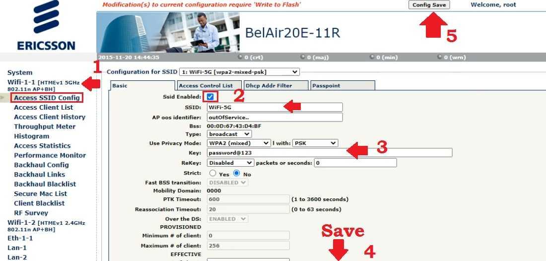 BelAir 100SNE Wireless Access Point