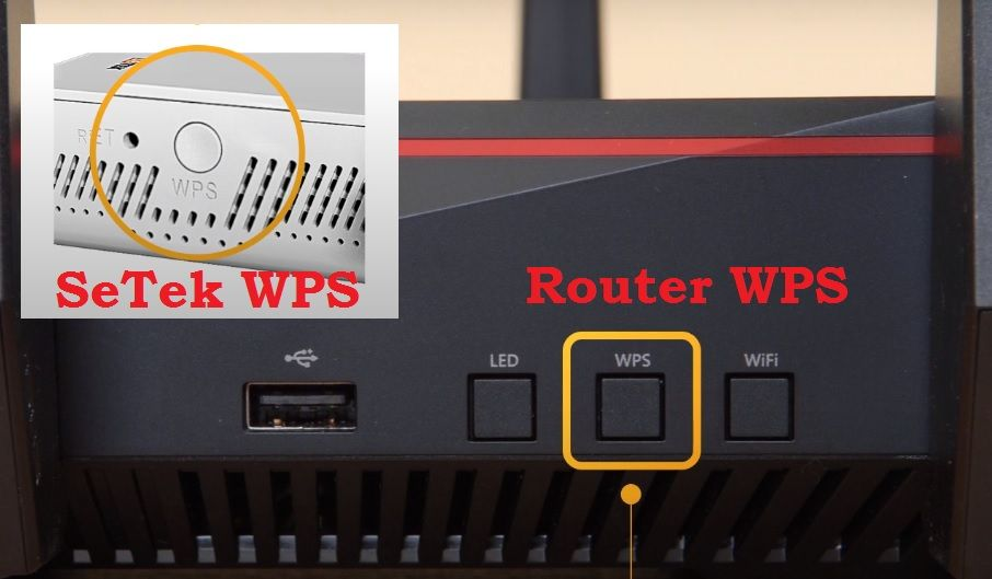 setup Setek Signal booster without password