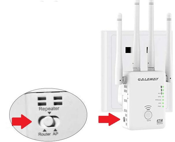 galaway g1200 wifi extender setup