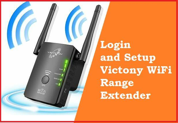 victony wifi extender manual