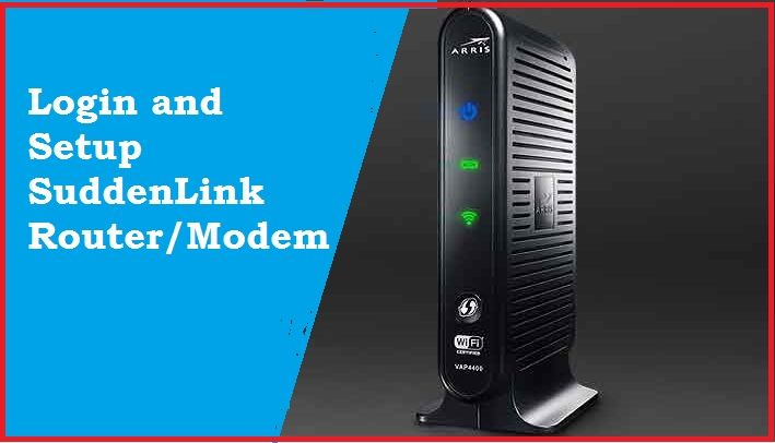 suddenlink router login