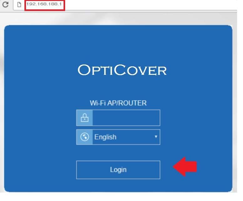 opticover wifi extender password