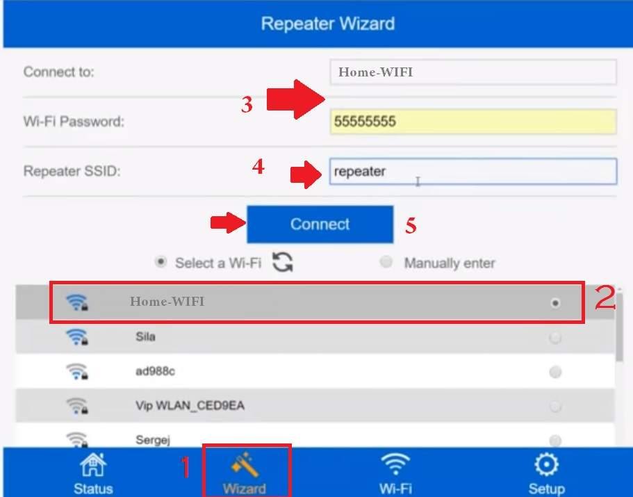 opticover wifi extender setup instructions