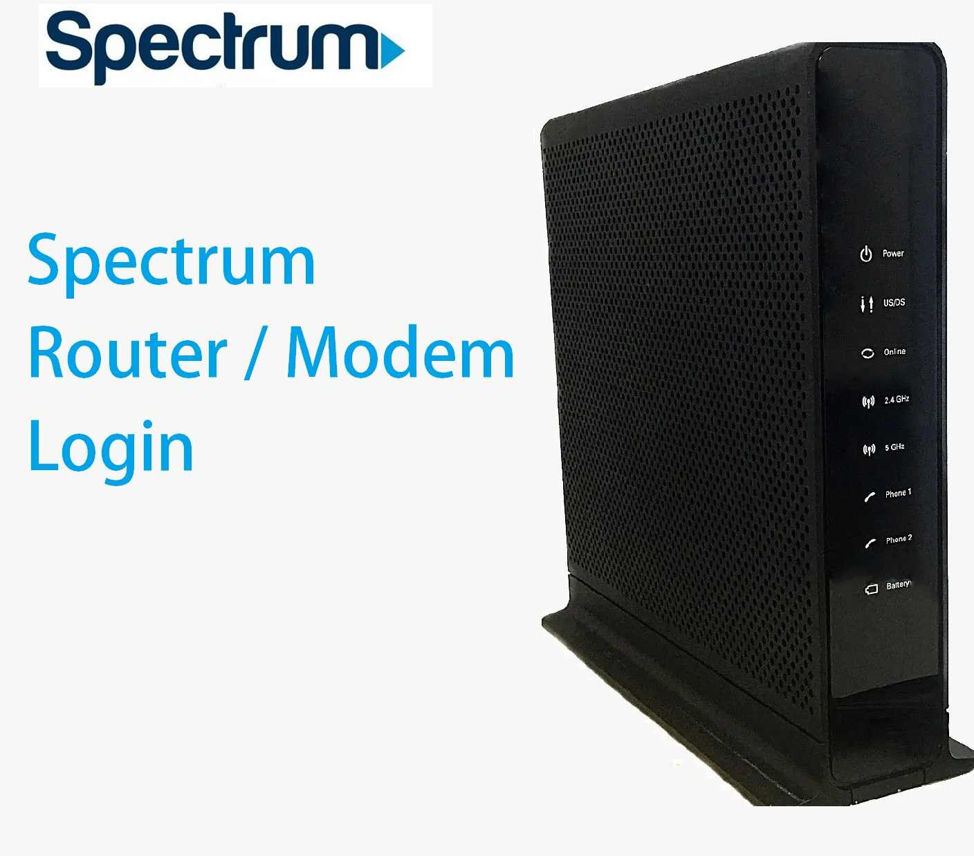 How to Log In to a Charter Spectrum Router