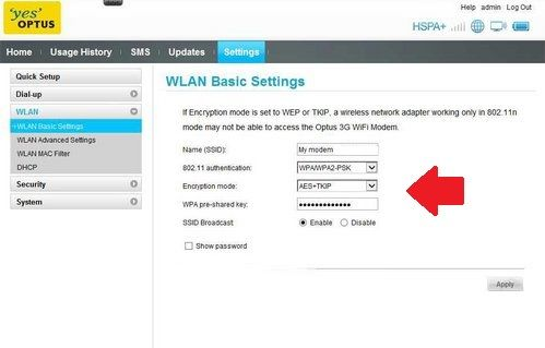 192.168.3.1 - Huawei HG232f Router login and password