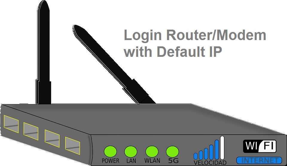 login modem 192.168.1.0