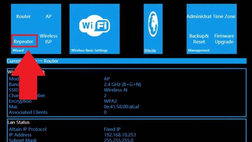 aigital wifi extender manual
