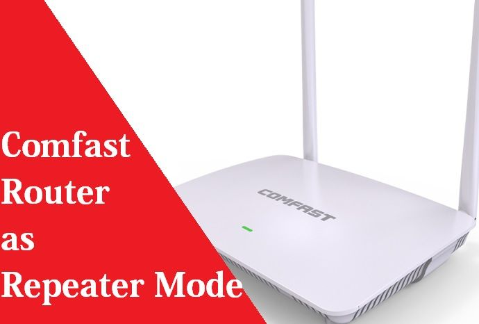 comfast repeater setup manual