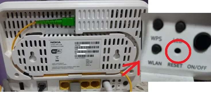 Airtel Xstream Fiber Nokia Router(ONT)Reset