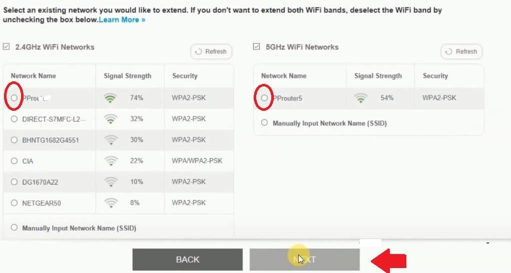 How do I set up my NETGEAR WiFi range extender?