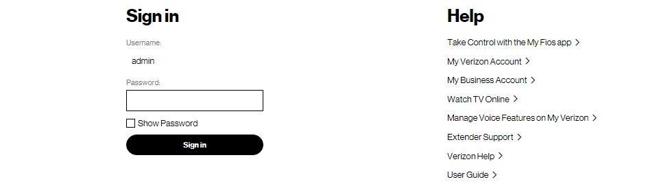 wifi extender verizon