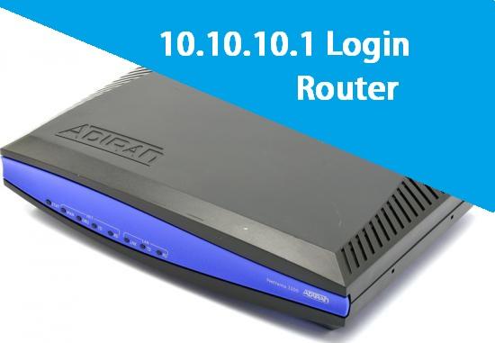 10.10.10.1 Default Router IP Login