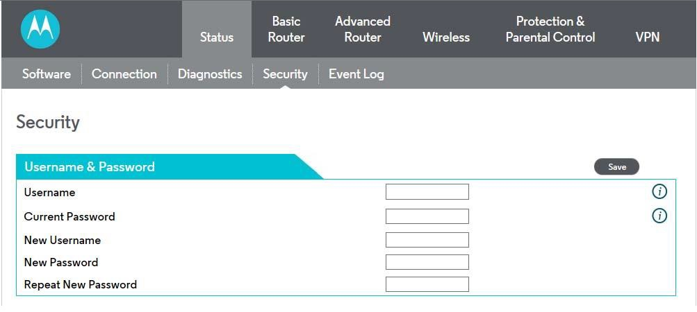 how to log into motorola router