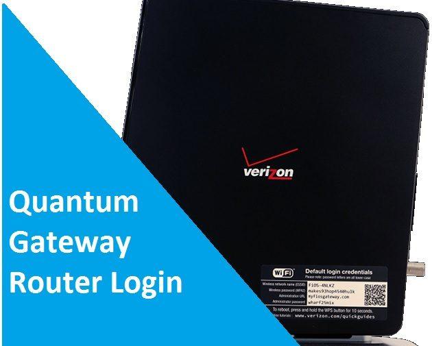 Quantum Gateway Router 192.168.l.l